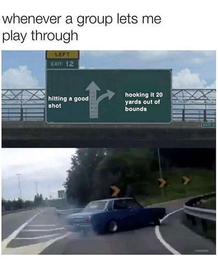Funny Golf Meme