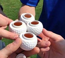 Golf Shot Glasses Photo
