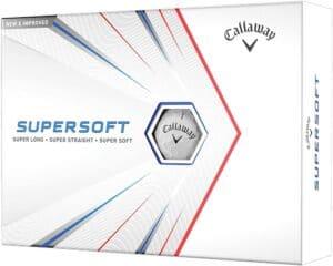 Forgiving Golf Ball - Callaway Supersoft