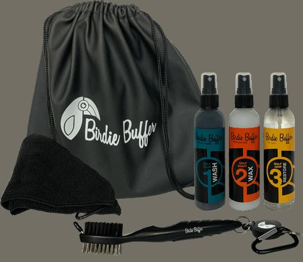 Birdie Buffer Golf Club Cleaning Kit