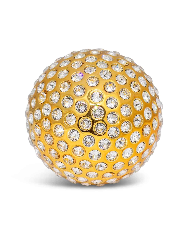 Crystamas Swarovski Golf Ball of Bling