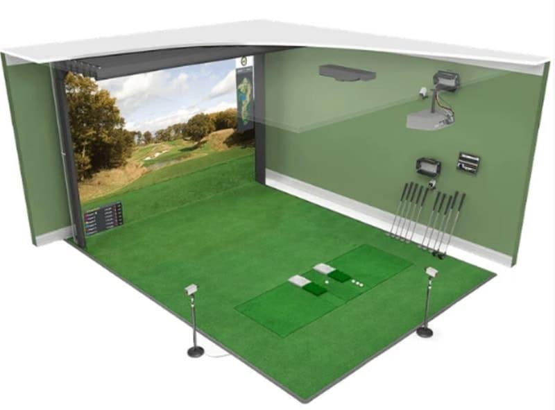 HD Golf Simulator Ultimate Package