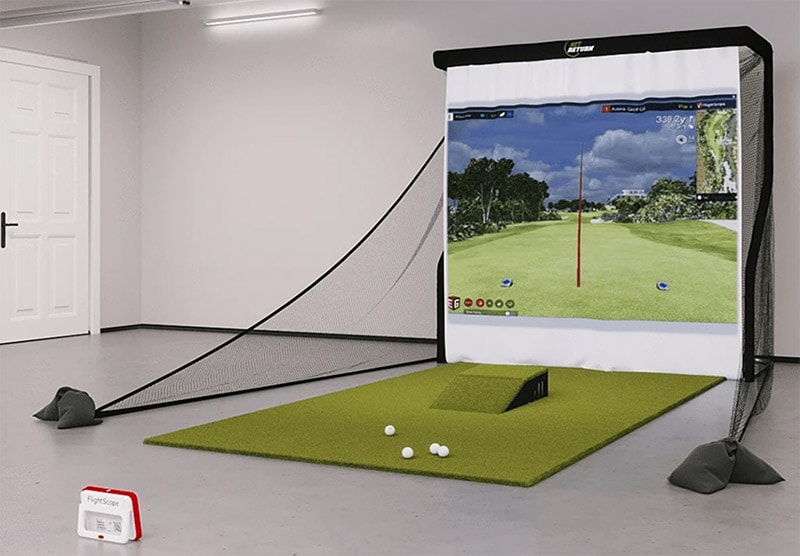 Mevo Plus Golf Simulator