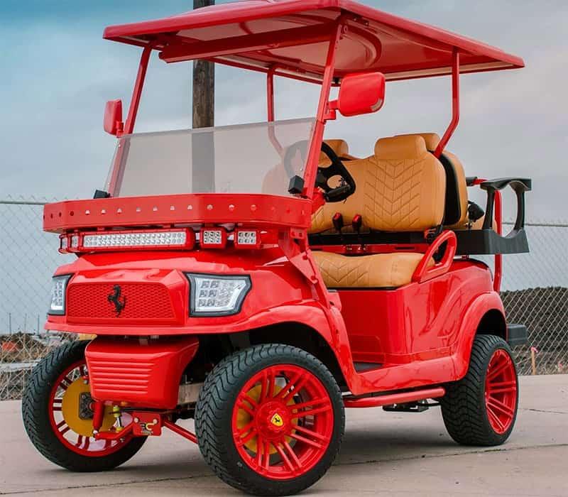 Ferrari Golf Cart