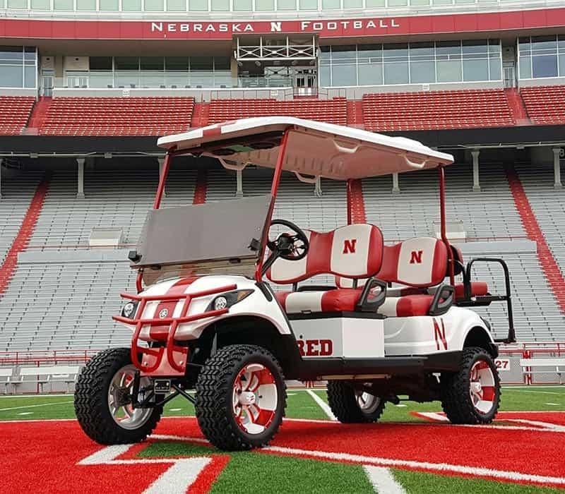 The Cornhusker Golf Cart
