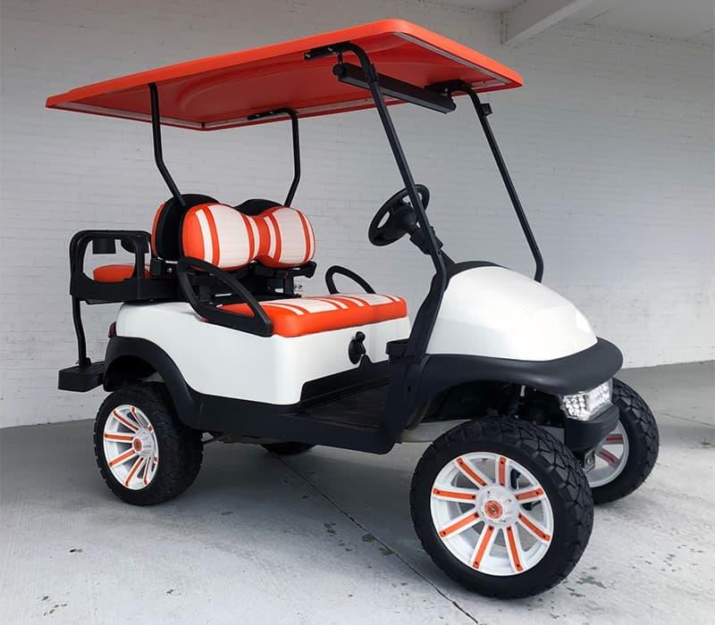 Clemson Tigers Golf Cart