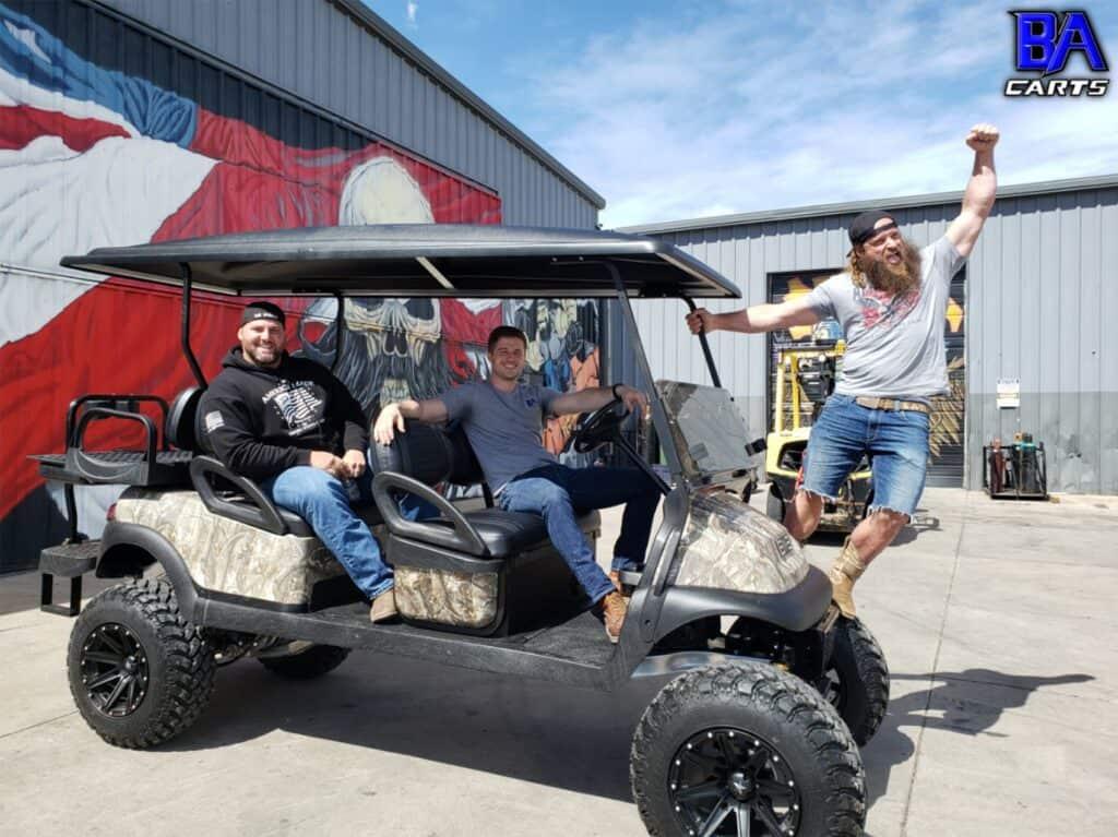 Custom Golf Cart Business Interview Photo