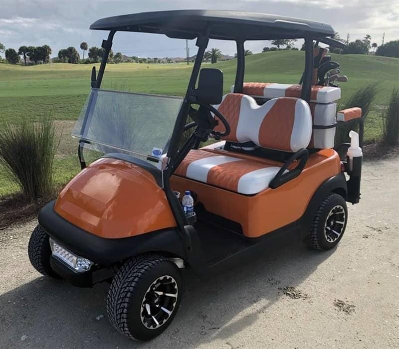 Texas Longhorn Golf Cart