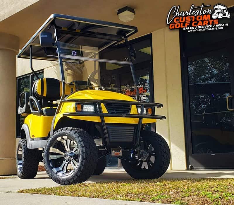 The Yellow Jacket Golf Cart