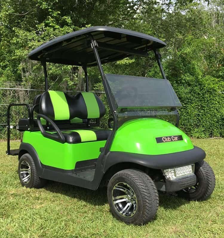 The Lime Green Golf Course Cruiser