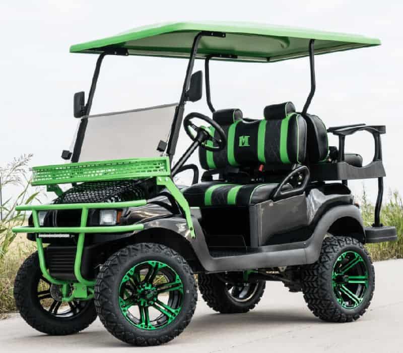 The Mean Green Golf Machine